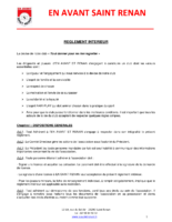 Reglement Interieur Juin 2017