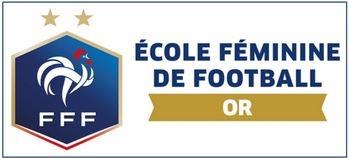 Label OR pour notre école féminine de football